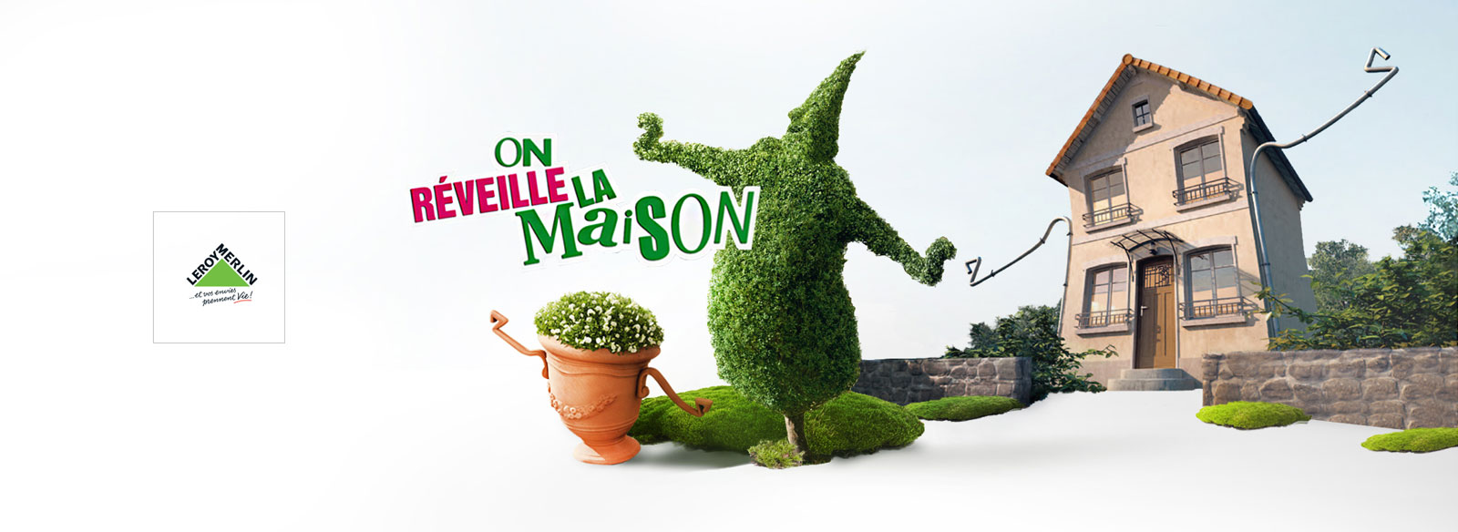 Leroy Merlin - On réveille la maison