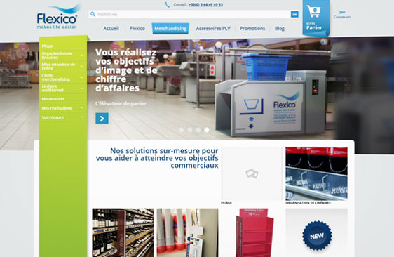 Site web e-commerce